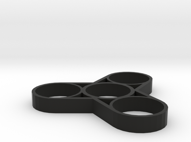 """Fidget Spinner """"Weight Reduction"""" in Black Strong & Flexible"""