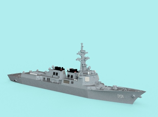 1/1800 ROKS Sejong The Great in Smooth Fine Detail Plastic