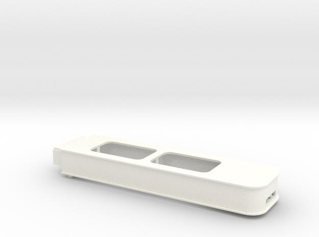 1.6 CARGO BRACKET EC135 (B) in White Processed Versatile Plastic