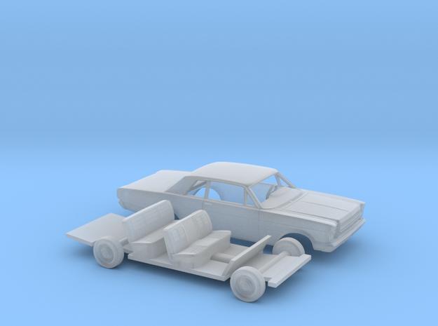 1/87 1966 Ford Galaxie 500 Custom 2 Door Kit