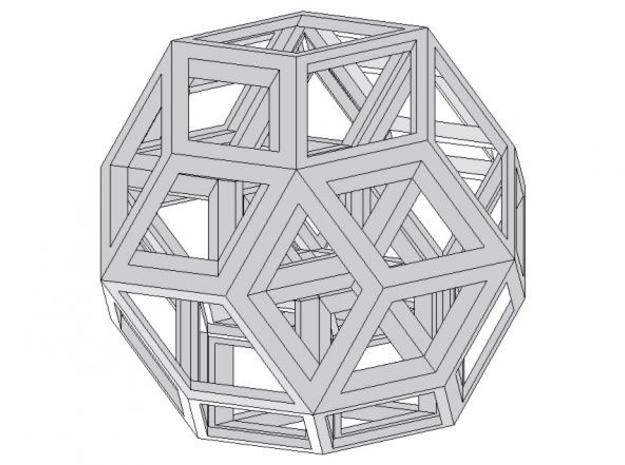 Mateos Puzzle 3d printed Description