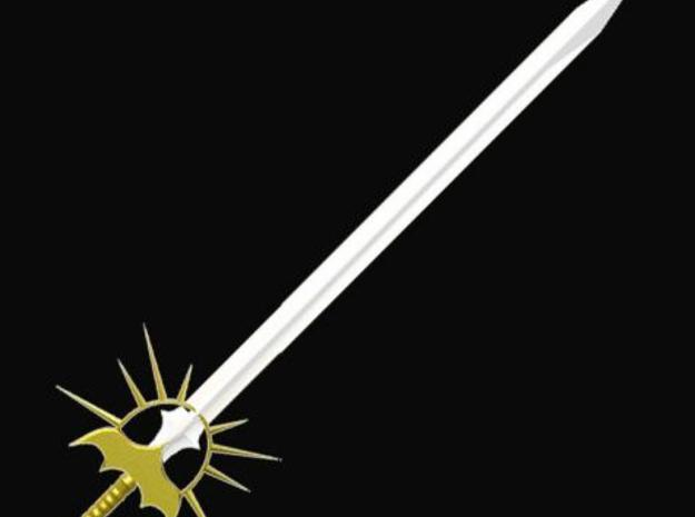 Sun longsword 3d printed Description