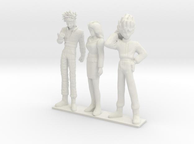 1/24 Formula Racing Team AOI in White Natural Versatile Plastic