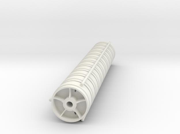 1/16 Taigen M4 Sherman Wheels (5 spoked) in White Natural Versatile Plastic