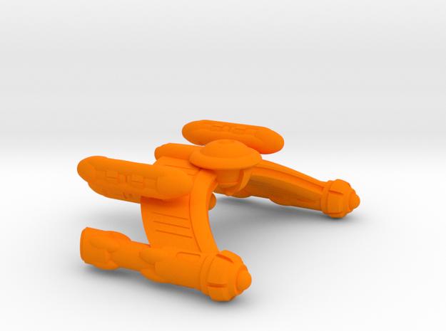 Writhen TH-2 Class Transport - 1:7000 in Orange Processed Versatile Plastic