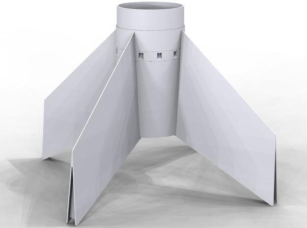 Astrobee1500 fin-unit for ST-20 tube for 24mm motr