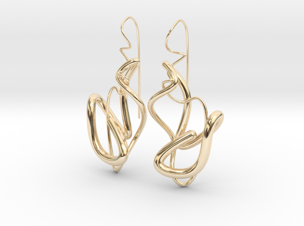 Delicate Drop Earings