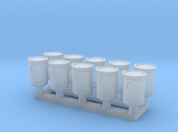 TJ-H02011x10 - Futs 30l ouverture totale in Smooth Fine Detail Plastic