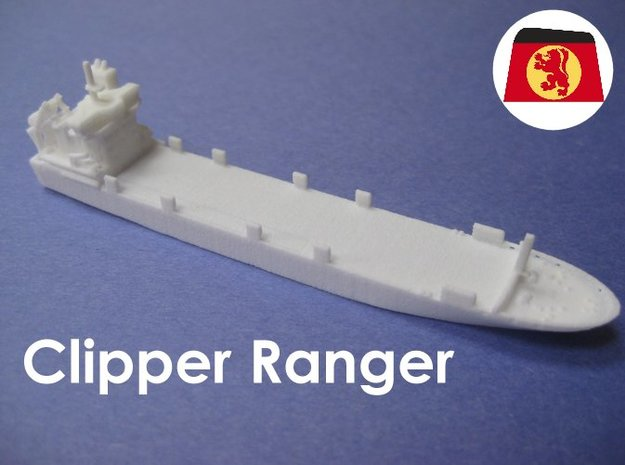 MS Clipper Ranger (1:1200) 3d printed