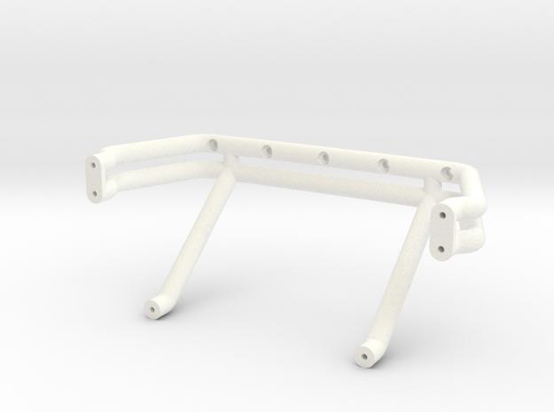 Bigfoot 1 Roll Bar in White Processed Versatile Plastic