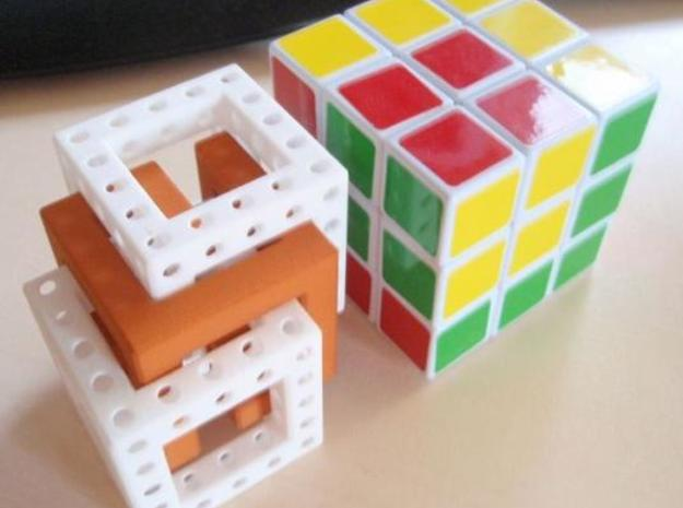 Little Maze N-Cube 3d printed complet 1