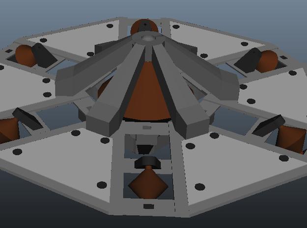 Otc Sheet1 3d printed Assembled inner disk