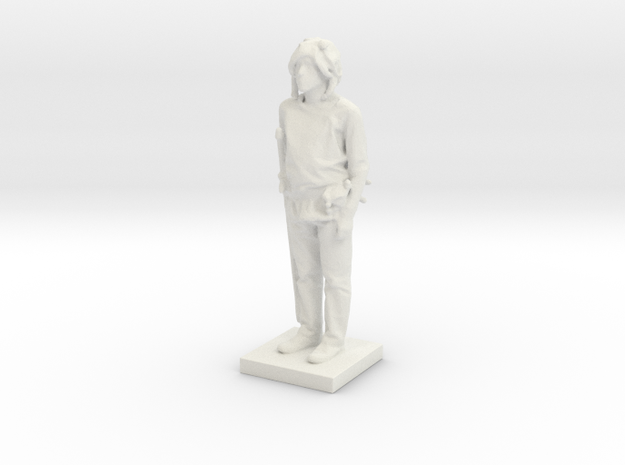 Printle C Homme 558 - 1/43 in White Strong & Flexible