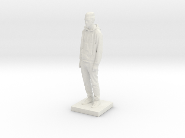 Printle C Homme 556 - 1/43 in White Strong & Flexible