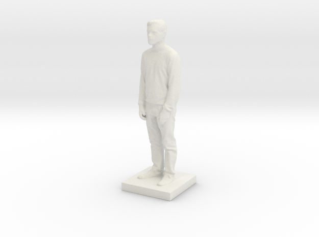 Printle C Homme 555 - 1/43 in White Strong & Flexible