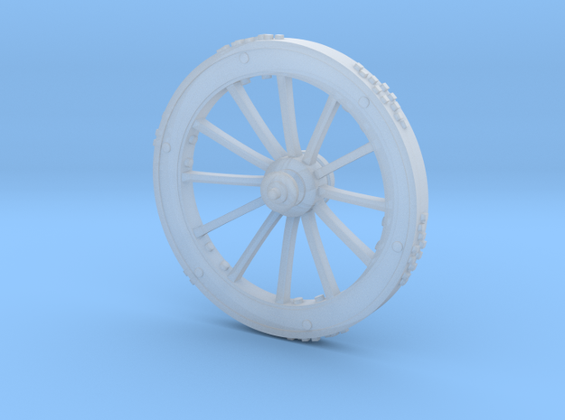 Big Wheel in Frosted Ultra Detail