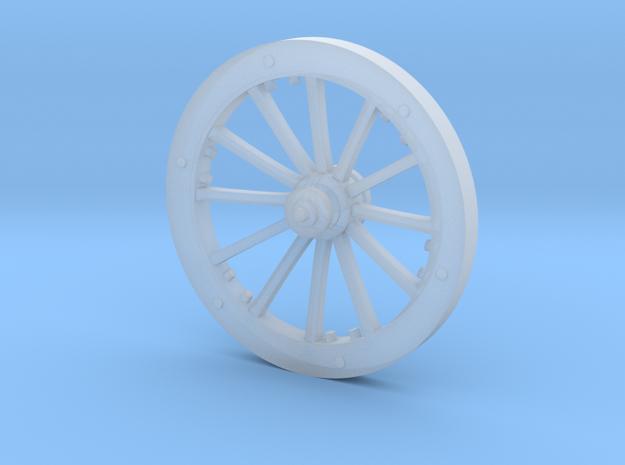 BM04.4 Bavarian Manson Limber  Wheel in Smooth Fine Detail Plastic