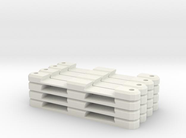 Chaz Combo in White Natural Versatile Plastic