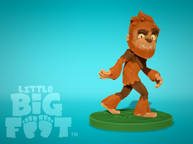 Little Bigfoot Classic Small in Full Color Sandstone