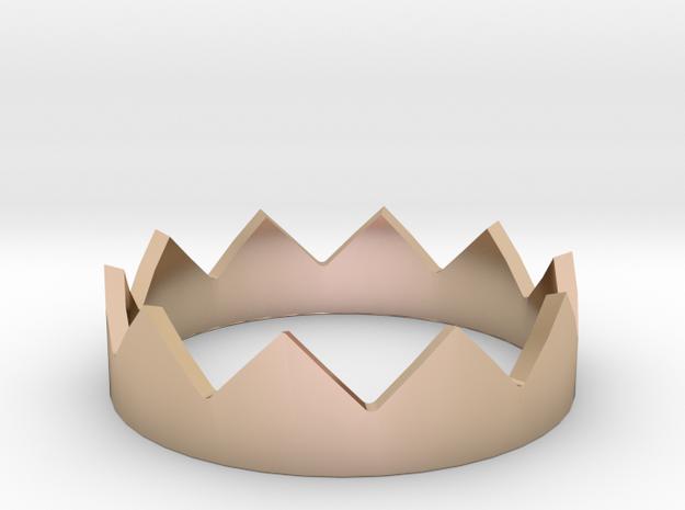 Custom Ring Order #1 in 14k Rose Gold