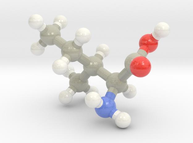 Isoleucine (I) in Glossy Full Color Sandstone