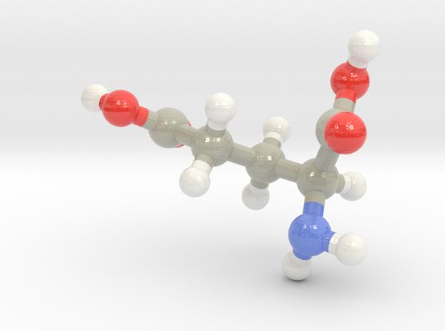 Glutamic Acid (E) in Glossy Full Color Sandstone