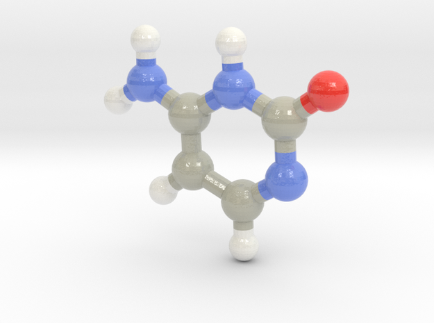Cytosine (C)  in Glossy Full Color Sandstone