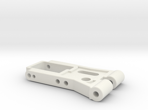 Arm2 in White Natural Versatile Plastic