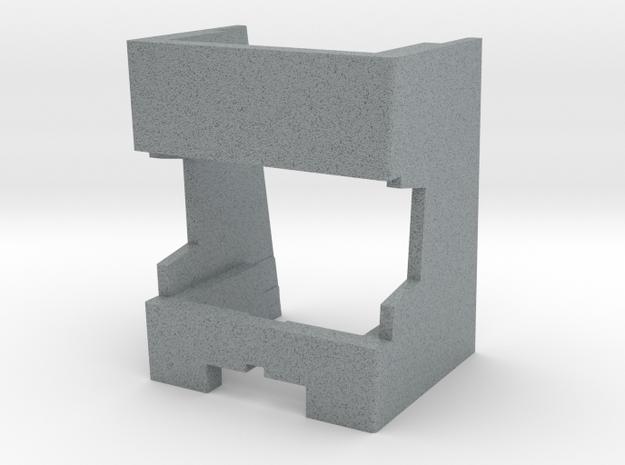 Dual 1019 Turntable Alignment Overhang Gauge  in Polished Metallic Plastic