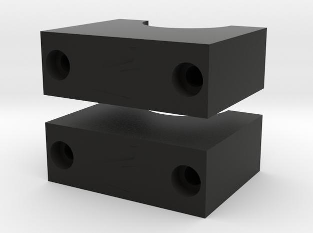Scope Mount Flat 2x in Black Natural Versatile Plastic