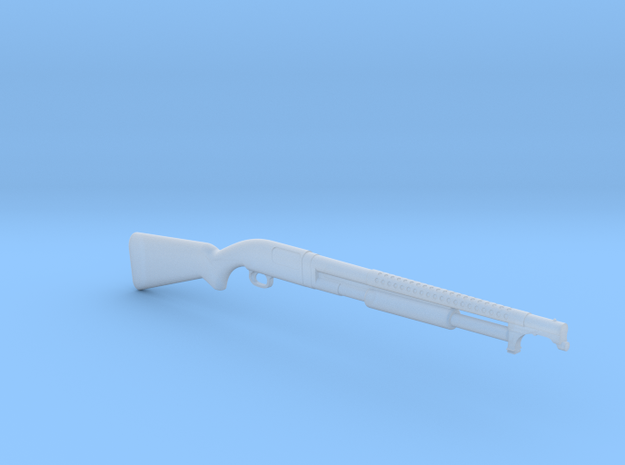 Winchester M12 Trench Gun (1:18 scale) in Frosted Ultra Detail: 1:18