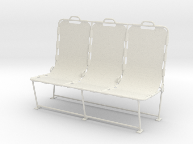 1.5 LAMA BANQUETTE in White Strong & Flexible