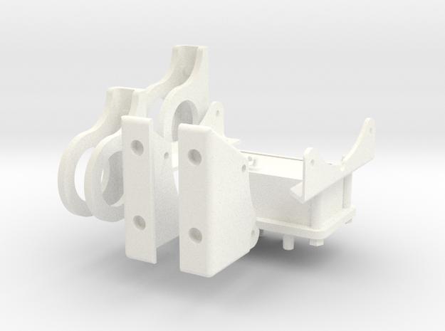 1.6 TREUIL ECUREUIL (C) in White Processed Versatile Plastic