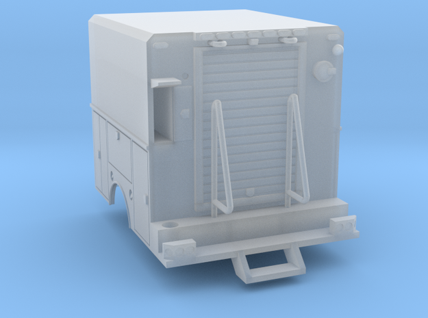 Utility Truck Work Bed 1-87 HO Scale RPS Truck