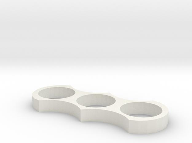 Batman Spinner in White Natural Versatile Plastic