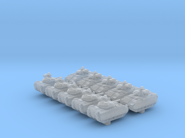 1/600 US M2A3 Bradley APC x10 in Smoothest Fine Detail Plastic