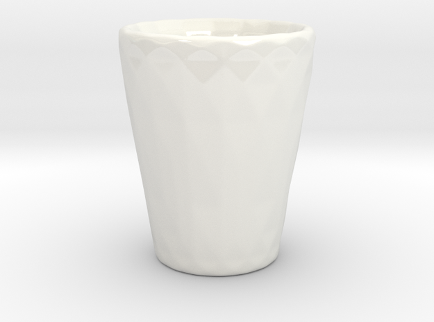 Low Poly Shot Glass