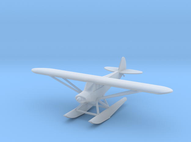 Piper PA18 Float Plane - Zscale