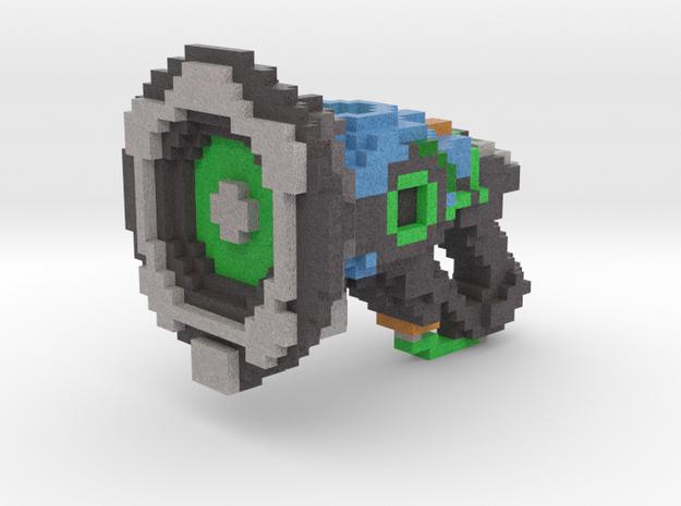 Lucio 8bit Gun in Full Color Sandstone