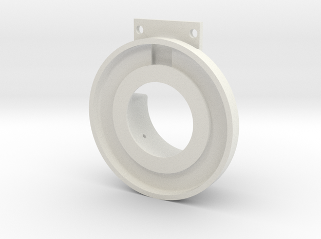 Rampage Encoder Mount Right Front in White Natural Versatile Plastic