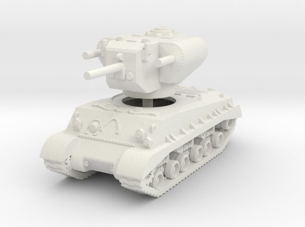 1/100 T-31 Demolition Tank in White Strong & Flexible