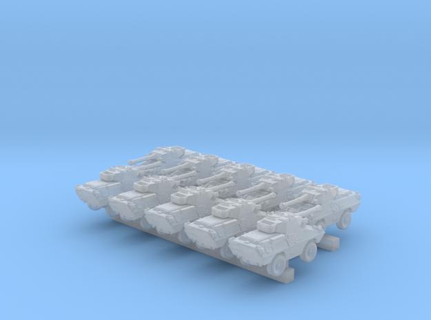 1/600 US Dragoon 300 LFV-90 Tank Destroyer x10 in Smooth Fine Detail Plastic