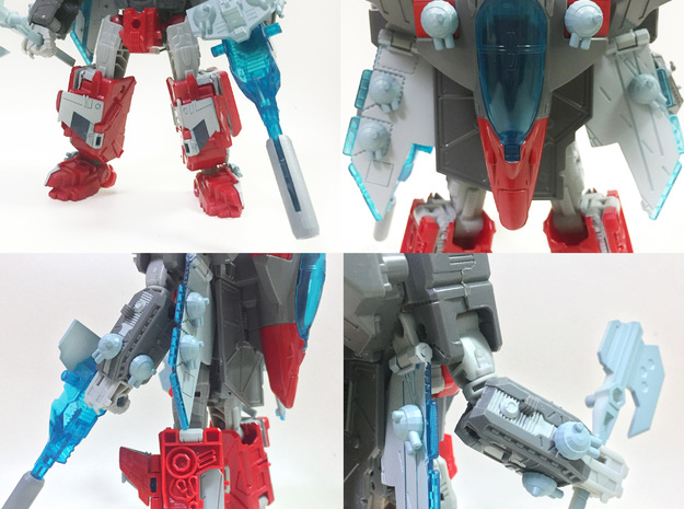 TR: Broadside/ Tidalwave Extra Cannons in White Processed Versatile Plastic