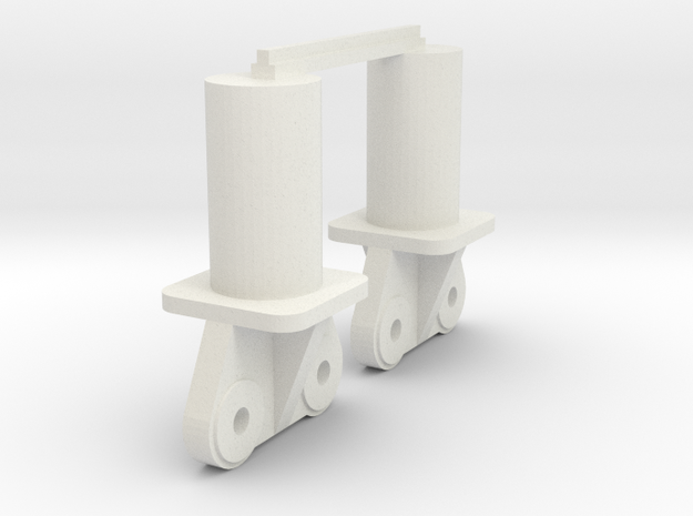 300 Ton Ends update in White Natural Versatile Plastic