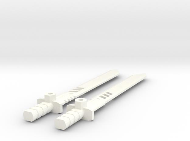 TLK: Metallikato Blade (Original) for Drift in White Processed Versatile Plastic