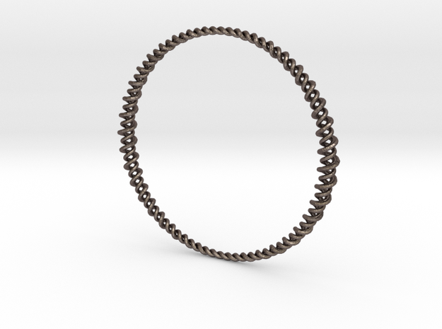 Combinato Mod 2.b in Polished Bronzed Silver Steel