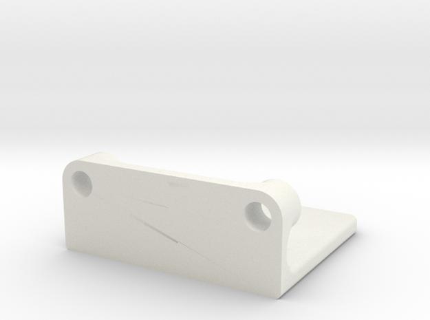 Rmp Bearing Encoder Mount 2 in White Natural Versatile Plastic