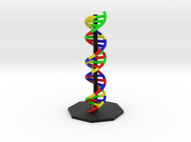 DNA Helix in Full Color Sandstone: Large