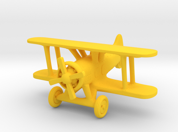 Boeing FB    1:87   HO in Yellow Processed Versatile Plastic