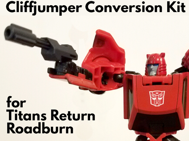 Titans Return Cliffjumper Upgrade Kit in Frosted Ultra Detail